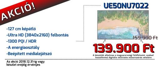 Aktuális akciós ajánlatunkból: Samsung UE40MU6122K 101cm MU6122 4K Sík Smart UHD TV